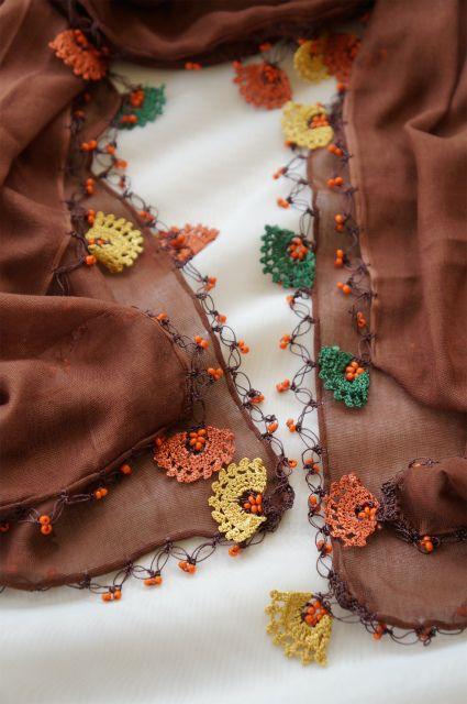 画像3: トゥーオヤの花花ストール