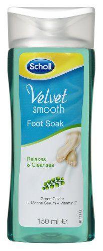 Scholl Velvet Smooth Pedicure Foot Soak 150 ml Scholl http://www.amazon.co.uk/dp/B00HBR7RDI/ref=cm_sw_r_pi_dp_RuXRub01TKHYE