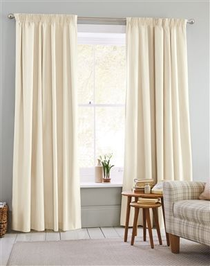 Bedroom Curtains cream bedroom curtains : 17 best ideas about Cream Pencil Pleat Curtains on Pinterest ...