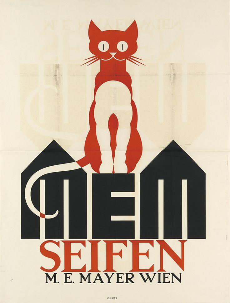 MEM Seifen (Soap), M.E. Mayer, Wien (c. 1923). Poster design by Julius Klinger (Austrian, 1876–1942)