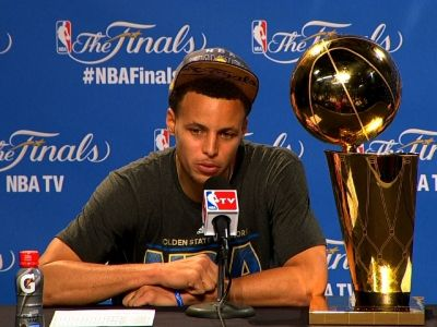 Golden State MVP Stephen Curry explains where his true inspiration comes from | Rare