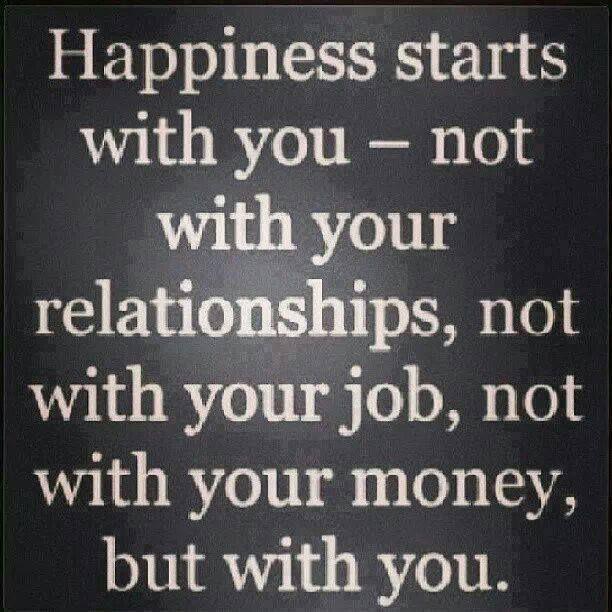 happiness start