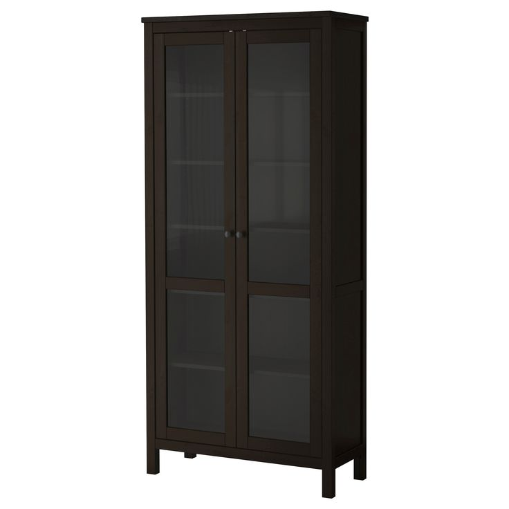 Luxury Black 2 Door Cabinet