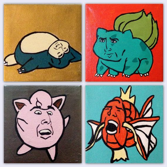 Cage Them All: 4 pack by jbellzamyy on Etsy