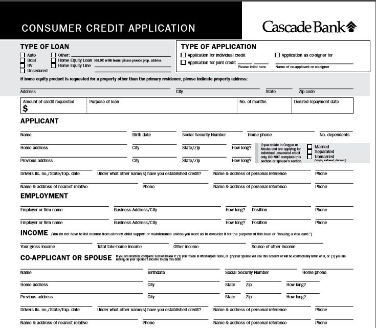 These free business credit application forms will help you collect and organize the appropriate information so both the lender and borrower can stay on the same page and make informed. 5 Professional Business Credit Application Template Word Excel Pdf Excel Tmp Credit Applications Bookkeeping Templates Types Of Loans