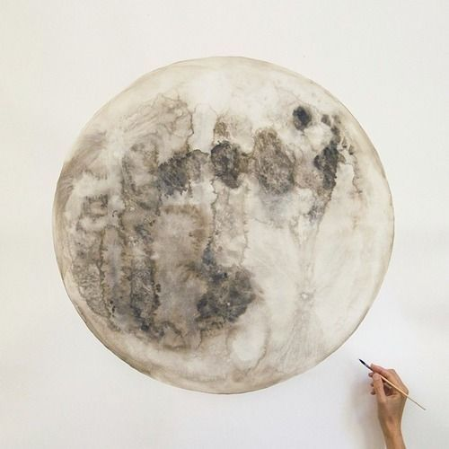I love paintings of the moon. the best.
