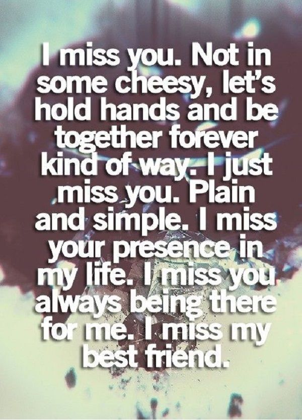 Sad I Miss You Quotes For Friends: 25+ Best Missing Best Friend Quotes On Pinterest