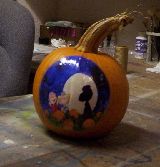 Cake Craft And Decoration Competition : 17 Best images about Pumpkin Painting on Pinterest ...