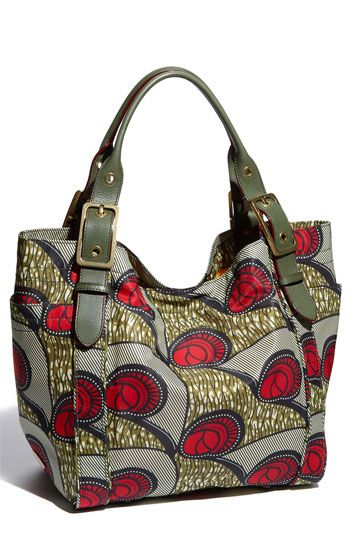M Z Wallace 'Ava - Ankara' Print Tote available at #Nordstrom ~Latest African Fashion, African women dresses, African Prints, African clothing jackets, skirts, short dresses, African men's fashion, children's fashion, African bags, African shoes ~DK