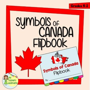 This 10-page project is a perfect capstone to your symbols of Canada unit. It includes pages for 8 different symbols. Each page includes a title, a picture, and 4 lines for writing sentences. As you teach our class about each of the symbols, have your students write sentences on each page and colour in the picture.These flip books would look great in portfolios and on a Symbols of Canada bulletin board display.Symbols include:-Maple Leaf-Beaver-Mounties-Inukshuk-Canada…