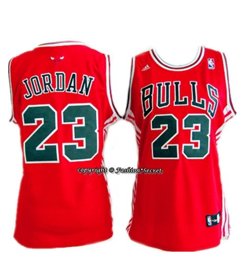 Nba 1997 1998 Chicago Bulls 23 Michael Jordan Red Woman