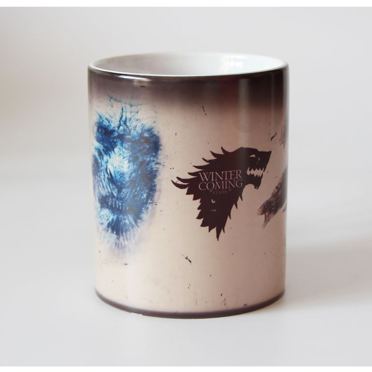 Winter Is Coming Game Of Thrones Tribal Totem Color Changing Magic Mugs //Price: $19.50 & FREE Shipping //     #gots7