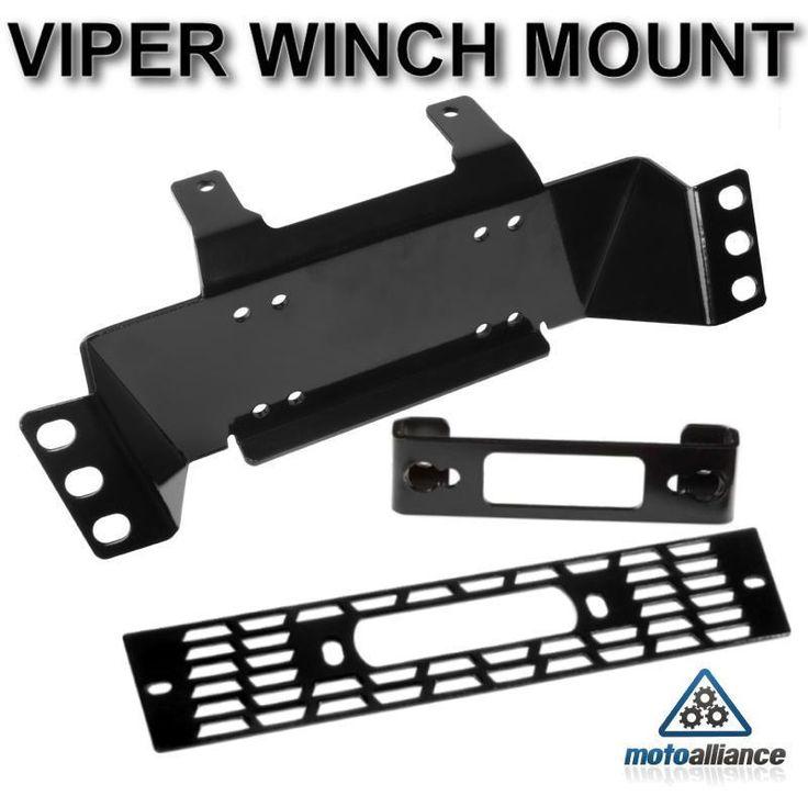 POLARIS RANGER 400/500 Custom Winch Mount by VIPER