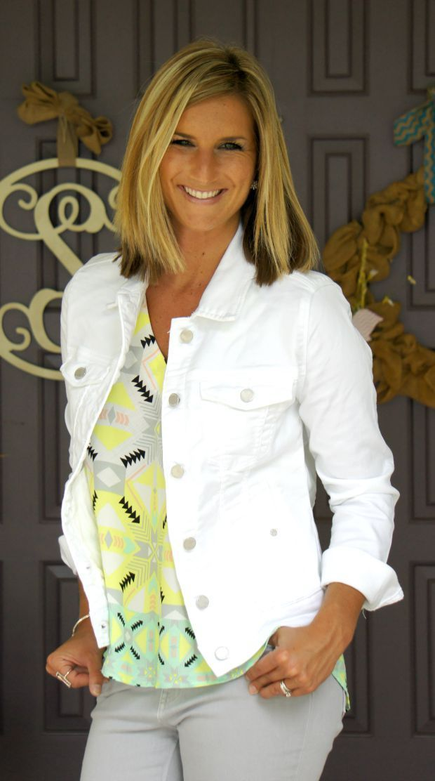 Dear Stitch Fix Stylist - I am looking for a white denim jacket for the summer months.  Something like this would be perfect!