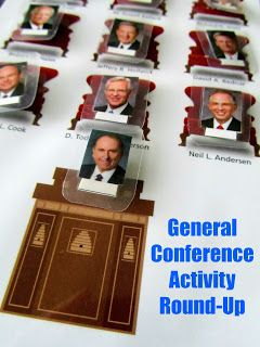 General Conference Round-Up.  Tons of activities, traditions, packets, and links to printables.