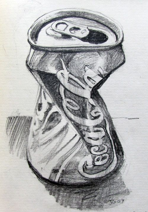 Gurney Journey: Sketching a Coke can