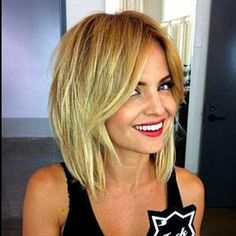 carre degrade , hairbob