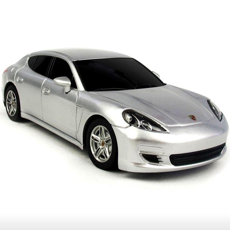 Porsche Panamera - Silver For more Rastar toys, visit http://www.yellowgiraffe.in #Rastar #toys #cars #Porsche