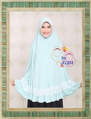Jilbab Khimar Cantik Sofia Renda By Dara Kerudung