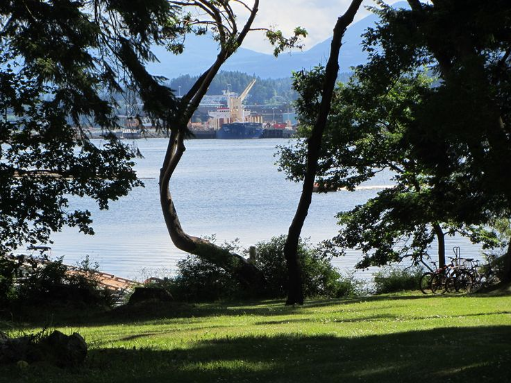 Can you believe a semi-oceanfront house with a view like this for only $249,900.  Protection Island Nanaimo