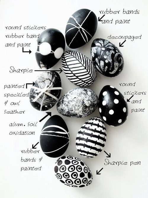 Sophisticated Easter eggs