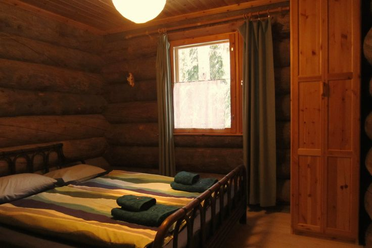 hirvipirtit lapland cabins Finland, Taivalkoski, cabin nr 2, sleeping room downstairs