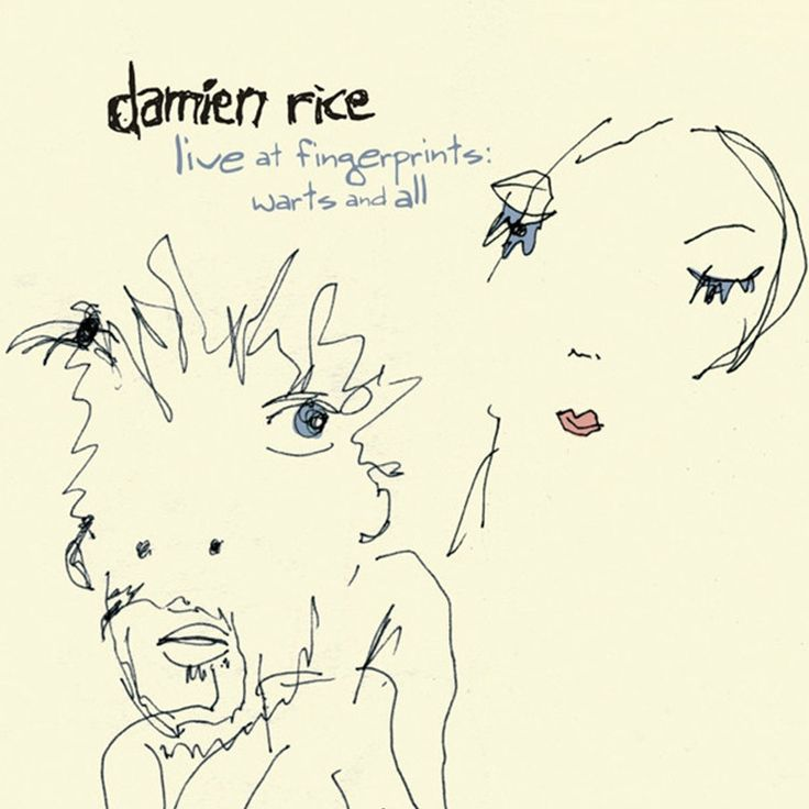 Damien Rice - Live At Fingerprints: Warts And All on LP