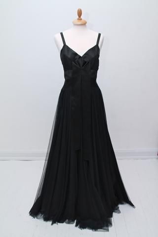 Solgt vintage tøj - Aftenkjole, Saks Fifth Avenue, New York,  1950 - Solgt - Vintage Divine - 1
