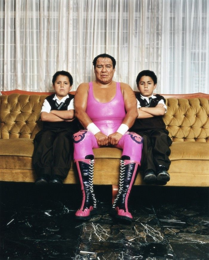 Rip Off Or Homage? Katinka Herbert's Intimate Portraits Of Mexican Luchadores  Photo: Katinka Herbert