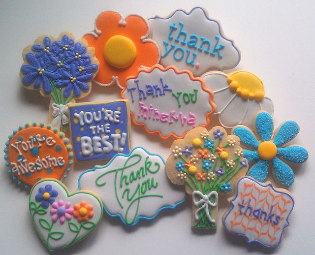 Administrative Assistant Day by Custom Cookies by Jill, via Flickr