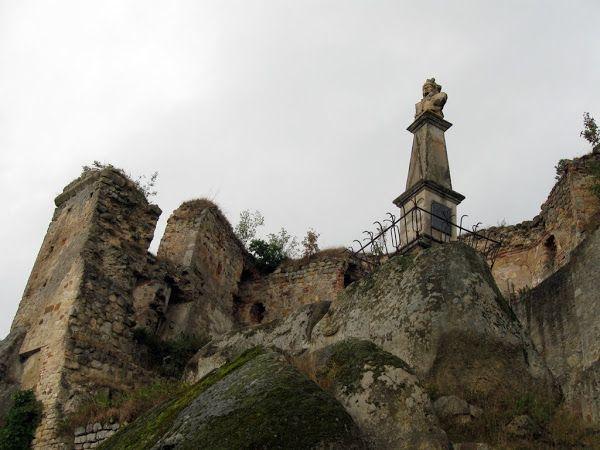 zamek kamieniec - posąg kościuszki