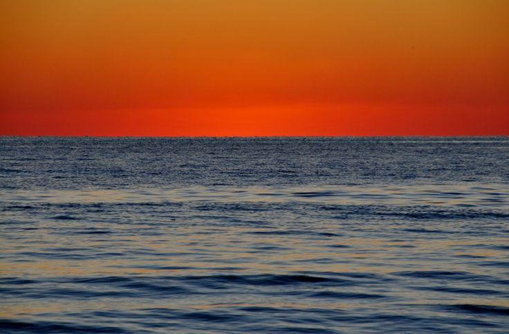 tramonto sul mare di Forte dei Marm #winter #inverno #mare #forte dei marmi #versilia #lucca #tuscany  # tramonto #sunset #sea