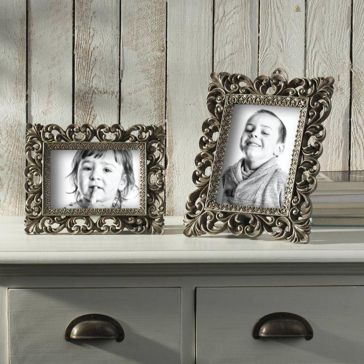 #ramka #photo #picture #frames #family #decoration #home #dekoracje Ramka Federica 21,5x22x27cm gold, 21,5x22x27cm - Dekoria