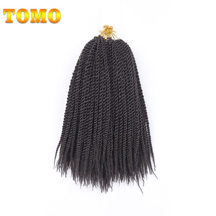 TOMO 5Packs 14Inch Midum Senegalese Twist Crochet Braid Hair 15Colors 20 Strands Ombre Jumpo Kanekalon Synthetic Crochet Hair #Affiliate