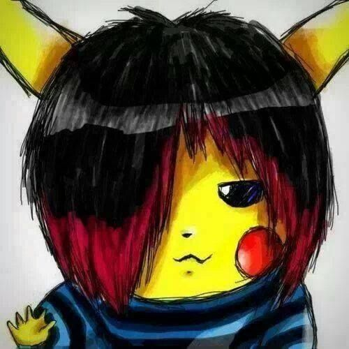 1000 Images About Pikachu On Pinterest Ash Emo Girls
