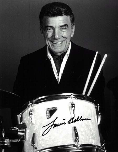 Louie Bellson. Paul Louis Belson  (1924-2009 ) Jazz musician. Regarded by many as one of the greatest drummers of all his era. Worked with such legends as Benny Goodman, Tommy Dorsey, Duke Ellington,& Harry James, during a career of more than 60 years.