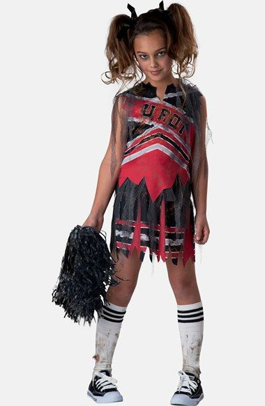 InCharacter+Costumes+'Spiritless+Cheerleader'+Zombie+Cheerleader+Costume+(Little+Girls+&+Big+Girls)+available+at+#Nordstrom