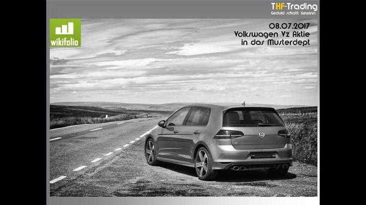 Volkswagen Aktie in das Musterdepot bei Wikifolio (Trading, Aktientipp, ...