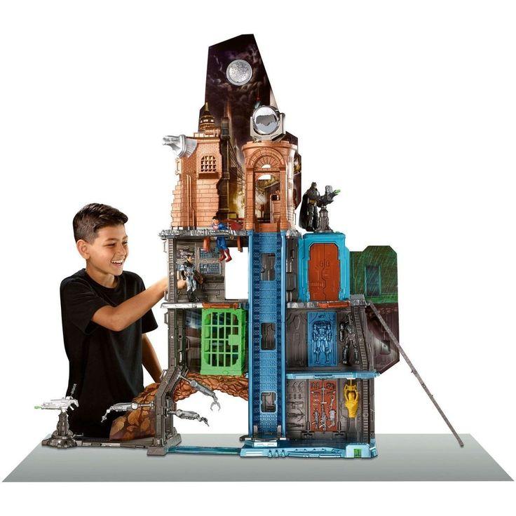 Superman Vs Batman Toys Movies Games Playset Children Tower Boy Hot Ultimate Set #SupermanVsBatman