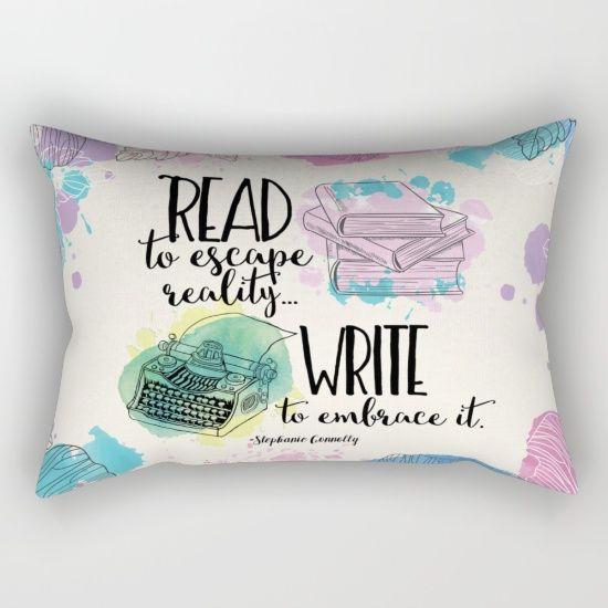 """Write to Embrace It"" Pillow *"