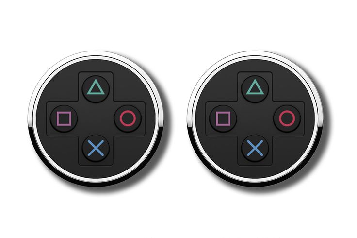 These Official Sony PlayStation Symbols Cufflinks are perfect for when you want to show your retro gaming chops in the boardroom. Show who's king of the hill with these PS1-controller-inspired cufflinks that show the stylish side of your inner geek.