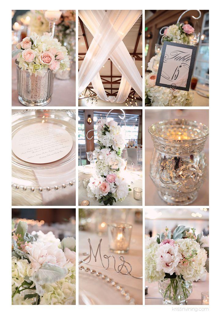 Trump National Wedding, Charlotte NC Wedding Photographer, Kristin Vining Photography, wedding day, wedding details, flowers, table setting, pink, blush, candles, reception