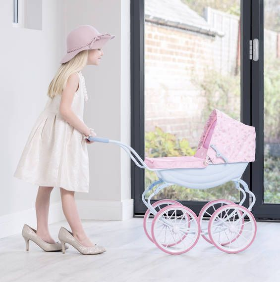 Baby Annabelle Vintage Carriage Dolls Pram