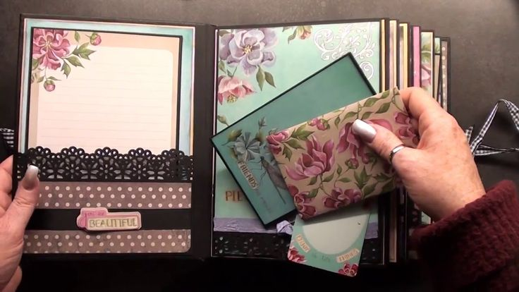 You are beautifull !!!!  Scrapbook  Mini Album