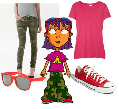 Definitely want to cosplay as Reggie Rocket.  Of course I loved her when I was 9. . .  she had purple hair!