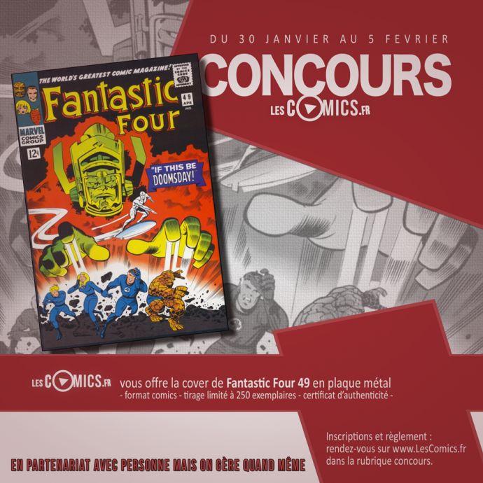 la steel cover Fantastic Four 49