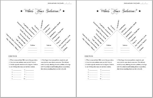 All Worksheets » Law Of Attraction Worksheets - Free Printable ...