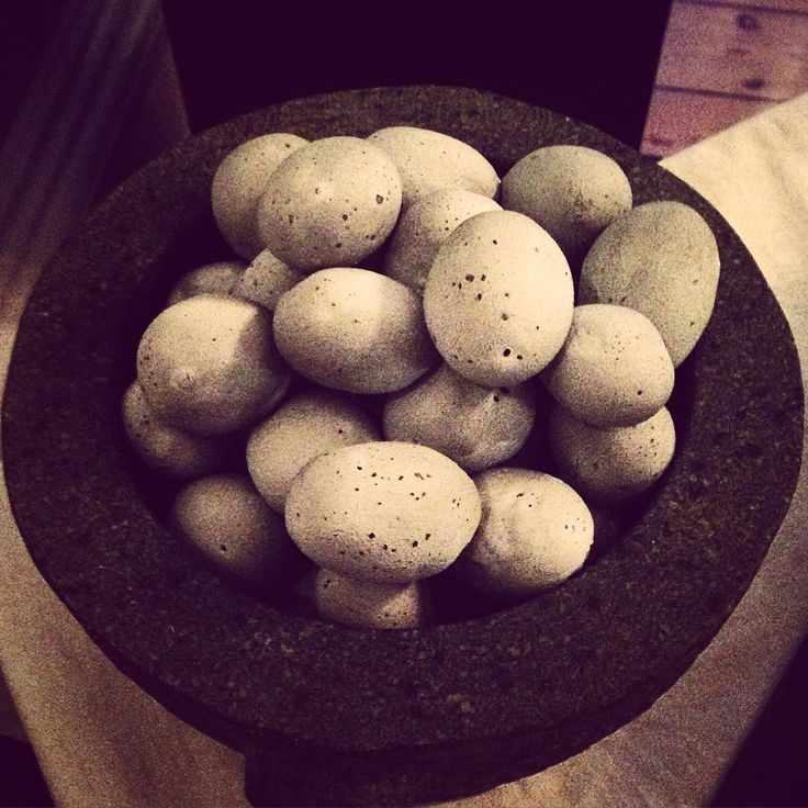 Edible #stones Cherry #potatoes #kaolin