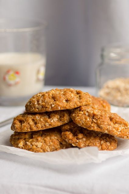Австралийское печенье Анзак. Anzac Biscuits | Les soufflés