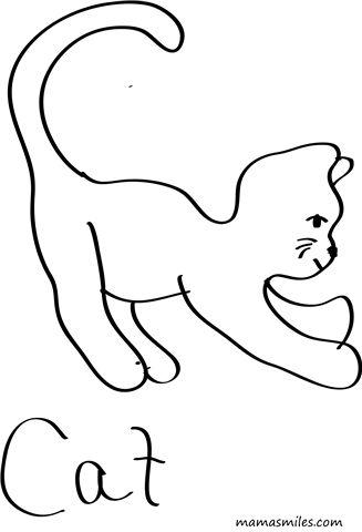 211 Best Art Cat Coloring Images On Pinterest